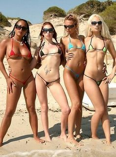 Micro Bikinis Will Shock You This Summer (Photo Gallery)