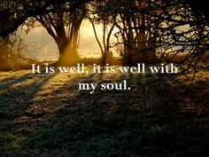 """""""It Is Well With My Soul"""" ~ This song is from the album, """"Together for the Gospel Live"""" from Sovereign Grace Music. ~"""