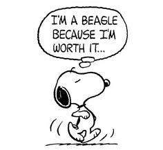 Mental Health Humor, Snoopy Images, Im Worth It, Peanuts Gang, Self Esteem, Fictional Characters, Dog, Friends, Board
