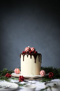 White Chocolate, Raspberry and Coconut Cake | The Polka Dotter