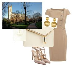 """""""church flow"""" by vay-brown on Polyvore featuring Valentino, Henri Bendel and Marco Bicego"""