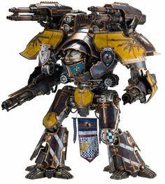 Warlord class Titan, Warhammer 40k