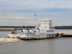 Inez Andreas, Towboats, Pushboats, Barges, Mississippi, Ohio, River, Towboat, Barge  My honeys boat