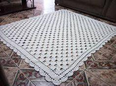 Resultado de imagem para como fazer tapetes de croche