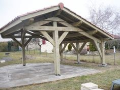Where To Buy Pergola Wood Product Design Garage, Carport Designs, Timber Frame Garage, Carport With Storage, Outdoor Grill Station, Carport Garage, Wood Pergola, Wood Creations, Patio Roof