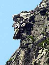 New Hampshire ~ The state's most famous natural rock formation ...