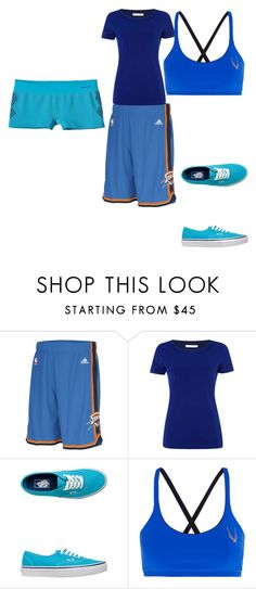 """""""Blueee!!!"""" by daisy-owens on Polyvore featuring adidas, HUGO, Vans, Lucas Hugh and Patagonia"""