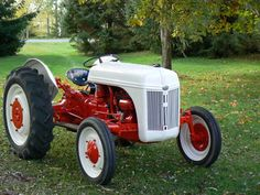 1941 fully restored 9n (this is the same tractor I use only mine looks 1941...definitely a wonderful workhorse and handles well.