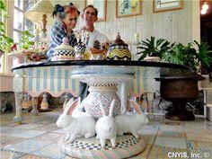 MacKenzie-Childs Inspired Furniture | MacKenzie-Childs Annual Barn Sale