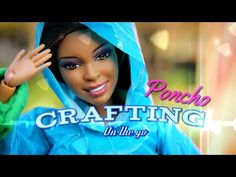 Crafting on the go: How to Make a Doll Poncho - YouTube