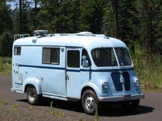 Vintage and Classic Vans on Pinterest | Trucks, Motorhome ...