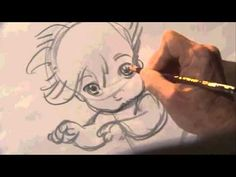 "Glen Keane's Hand-drawn animation ""Duet"" displayed at Google I/O 2014 - YouTube"