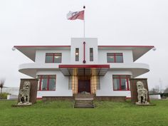 Villa Jongerius - Utrecht. Nieuwe Zakelijkheid met art deco-elementen.