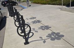 Clever Street Artist Paints Fake Shadows to Playfully Trick Passersby | via www.mymodernmet.com