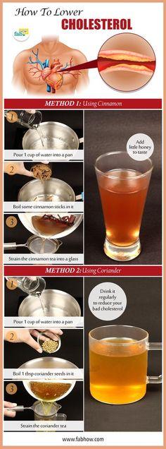 Tea for high cholesterol