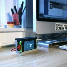 Distil Union Snooze iPhone Alarm Dock