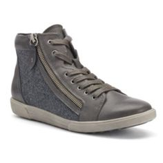 38a67e649f0 SONOMA Goods for Life™ Women s Lace Up   Zipper High-Top Sneakers