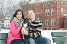 Snowy Maine engagement photos from Ryan + Brandi Photography // #engaged #engagement Urban Engagement Photos, Engagement Session, Maine, Couple Photos, Couples, City, Couple Shots, Couple Photography, Couple