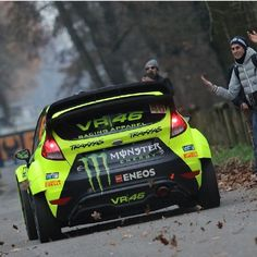 Monza Rally 2016 Motogp Valentino Rossi, Valentino Rossi 46, Rallye Wrc, Ford Fiesta St, Vr46, Combustion Engine, Grid Girls, Monster Energy, Paint Schemes