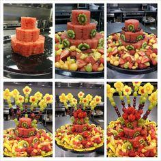 Show stopper - fruit explosion Fruit Decorations, Food Decoration, Fruit Snacks, Fruit Recipes, Fresh Fruit Cake, Fruit Cakes, Fruit Birthday Cake, Fruit Creations, Watermelon Cake