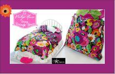 Vera Bradley cake Va Va Bloom bedding