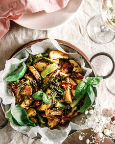 Kung Pao Chicken, Japchae, Paella, Potato Salad, Salads, Potatoes, Ethnic Recipes, Food, Potato