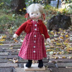 ポングラッツ人形木製(2015年新作H335):おもちゃ:百町森