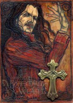 Dracula (with applied brass crucifix), Soni Alcorn-Hender Comte Dracula, Bram Stoker's Dracula, Real Vampires, Vampires And Werewolves, Gothic Art, Victorian Gothic, Dark Gothic, Vlad The Impaler, Beautiful Dark Art