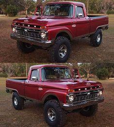 jeeps and #trucks Big Ford Trucks, 1979 Ford Truck, Ford Ranger Truck, Jeep Pickup Truck, Classic Pickup Trucks, Gm Trucks, Lifted Trucks, Cool Trucks, Ford 4x4