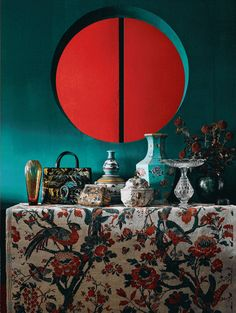 Oriental Chinese Interior Design Asian Inspired Living Room Home Decor www.interactchina.com