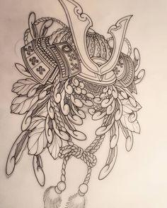 Không có mô tả ảnh. Demon Tattoo, Samurai Tattoo, Japanese Drawings, Japanese Tattoo Designs, Daruma Doll Tattoo, Japan Tattoo, Mermaid Tattoos, Japanese Patterns, Irezumi