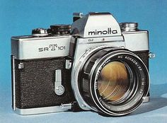 As a second body to a more recent model Minolta camera the argument in favour of the SR-T is even more powerful. Description from rokkorfiles.com. I searched for this on bing.com/images