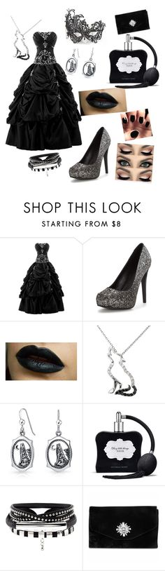 """""""My First Polyvore Outfit"""" by turnup246811 ❤ liked on Polyvore featuring Malin + Mila, Bling Jewelry, Victoria's Secret, Masquerade and Gunne Sax By Jessica McClintock"""