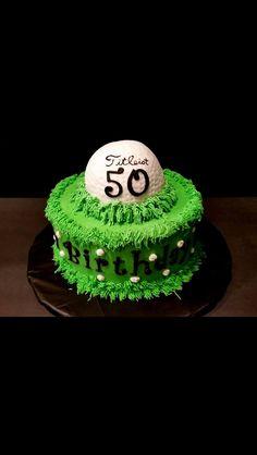 Golf cake idea! More