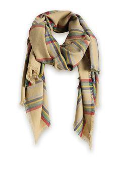 Geruite oversized sjaal