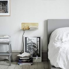 int bedroom - matte grey styling