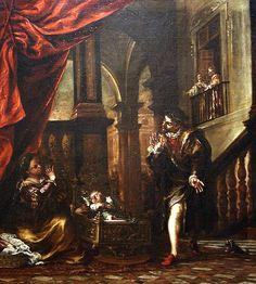 """Valdés Leal: """"El milagro de la abejas"""", 1673. Palacio Arzobispal de Sevilla."""