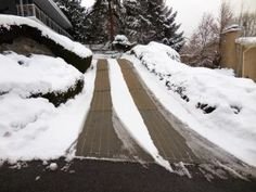 1000 Images About Snow Melting And Heated Driveways On