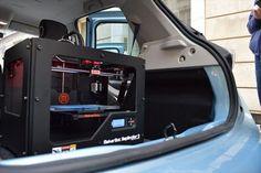 Un laboratorio de impresión 3D en cada coche (vídeo) http://www.print3dworld.es/2013/10/un-laboratorio-de-impresion-3d-en-cada-coche.html