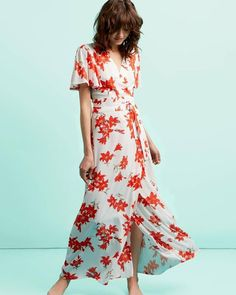 Never fully Dressed Floral Maxi Maxis, Floral Maxi, Must Haves, Spring Fashion, Wrap Dress, Spring Summer, Boutique, Womens Fashion, Inspiration