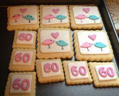 Anniversary cookies Anniversary Cookies, Christmas Cookies, Sugar, Desserts, Food, Xmas Cookies, Tailgate Desserts, Birthday Cake Cookies, Dessert