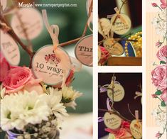 Tea Party Bridal/Wedding Shower Party Ideas | Photo 8 of 10 | Catch My Party