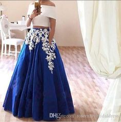 Prepare the shop for prom dresses for the upcoming prom? Then you need to see elegant a line applique off the shoulder two piece lace applique prom dresses simples evening dress party gown floor length in rosemarybridaldress and other short prom dresses on sale and wholesale prom dress on DHgate.com.