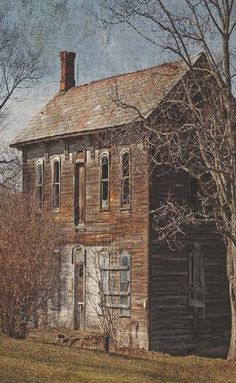 Old Farm House Is Tall, Plain But So Sweet