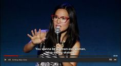 Ali Wong from her standup special Baby Cobra Ali Wong Baby Cobra, Hilarious, Funny, Stand Up, Comedians, Laughter, Lol, Entertainment, Memes