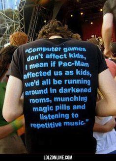 Computer games dont affect kids #lol