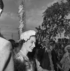 Queen Elizabeth in Calgary 1959- Look how young she looks :)