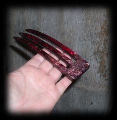 ctl Unusual METALLIC ROSE LAVA Acrylic Hair Fork U Choose Length