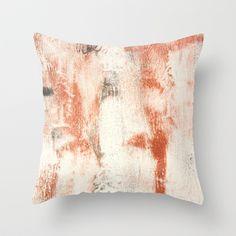 brass winter Throw Pillow by PatternPrincess - $20.00
