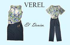 VEREL, the new line: DENIM.